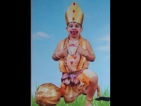 Fancy Dress Won First Prize Hanuman