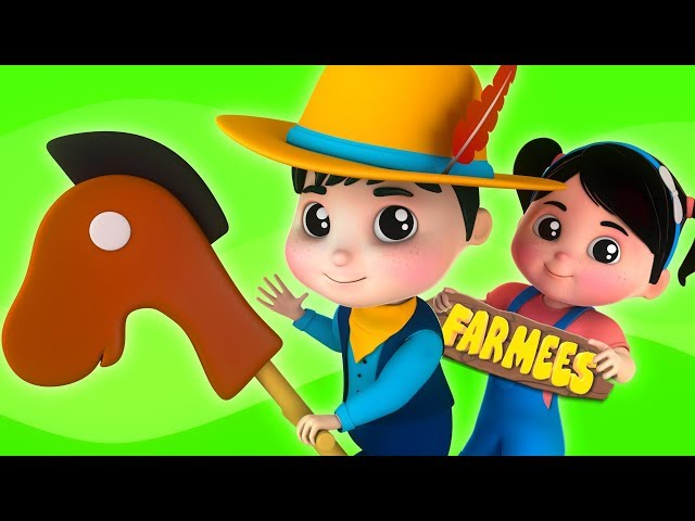 Yankee Doodle Went To Town | Nursery Rhymes And Cartoons by Farmees