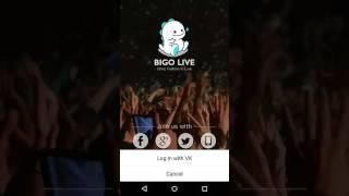 BIGO live 2 accounts in one device