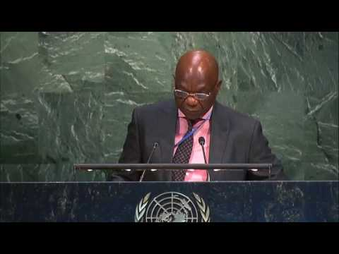 Mauritius Resolution on Chagos at United Nations General Assembly  22 June 2017