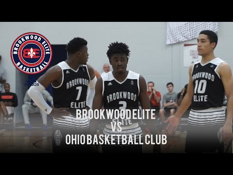 BROOKWOOD ELITE vs OHIO BASKETBALL CLUB | Adidas Gauntlet Fi