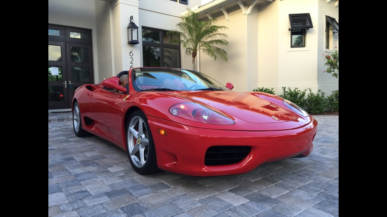 sold 2004 ferrari 360 modena spider for sale by auto europa naples youtube. Black Bedroom Furniture Sets. Home Design Ideas