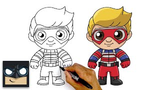 How To Draw Kid Danger | Henry Danger
