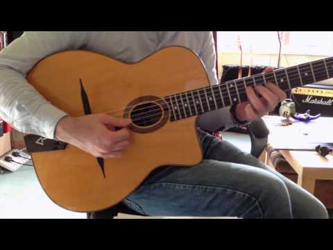Pour Vous (Exactly Like You) - Django Reinhardt's Solo (Note for Note)