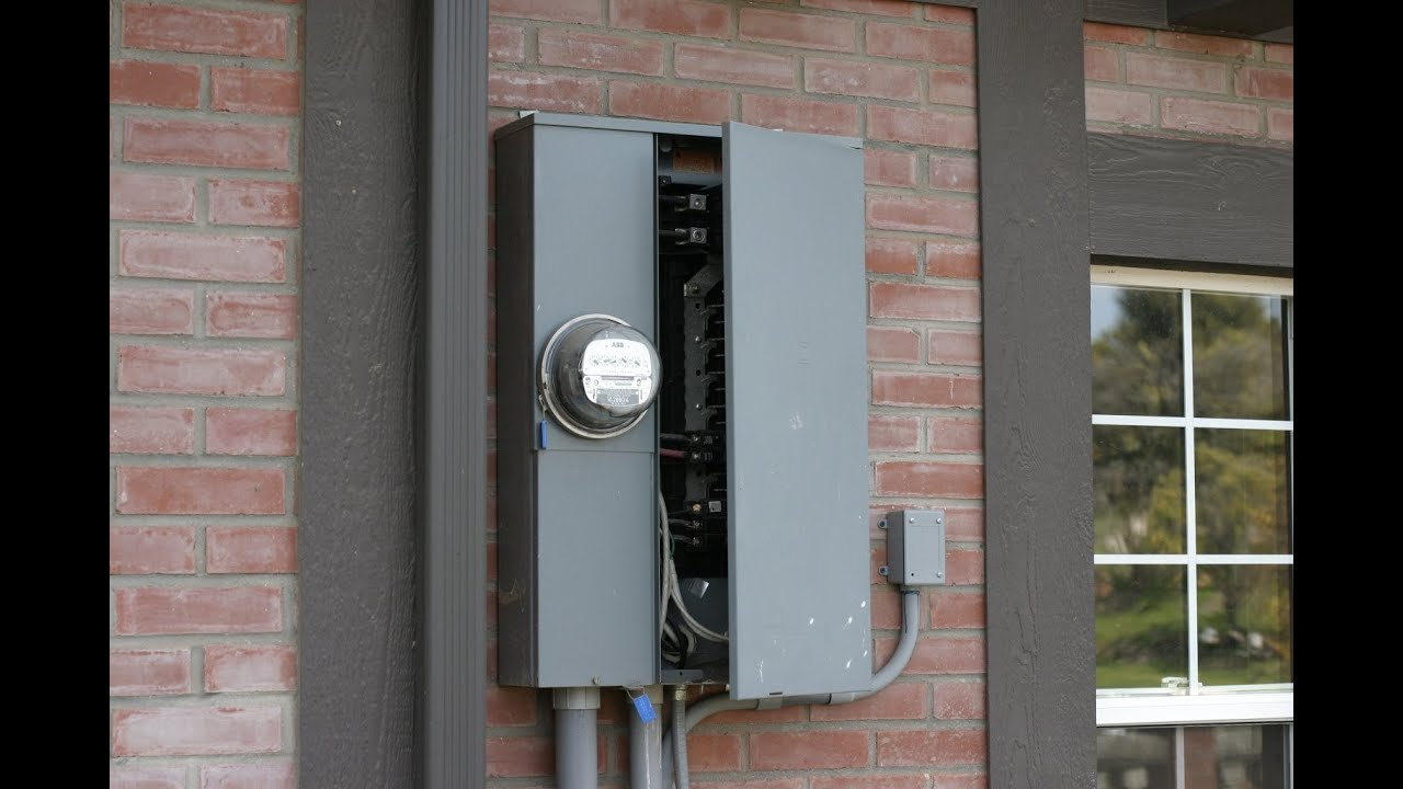 Home Inspection Electrical Youtube York Heat Pump Fuse Box