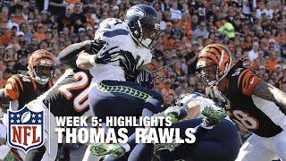 Thomas Rawls Highlights (Week 5) | Seahawks vs. Bengals | NFL