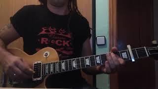 The Darkness - Live 'til I Die (Easter is Cancelled Album) Guitar Cover