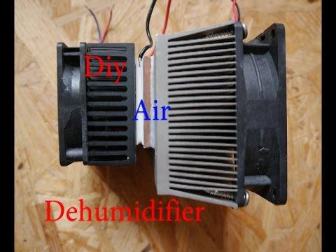 Diy Air Dehumidifier - YouTube