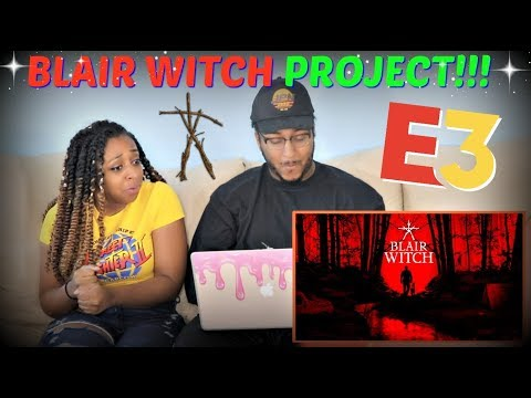 """Blair Witch"" Reveal Trailer #E3 REACTION!!"