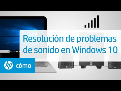 Resolución de problemas de sonido en Windows 10 | Equipos HP | HP
