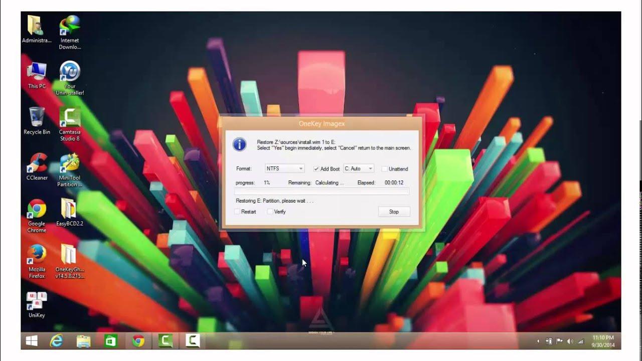 Hướng dẫn cài đặt song song Windows 8 – 8 1 với Windows 7