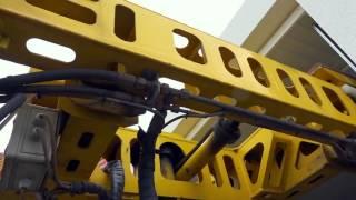 Kemmler Fertiggaragen - Aufstellung -  Prefabricated Garages - installation with special vehicle