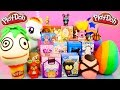 Play-Doh Surprise Eggs Unboxing BFFS Disney Vinylmation Little Mermaid Toys Playdough DCTC Videos