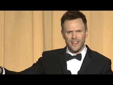 "Joel McHale On ""Obamacare"" at 2014 White House Correspondents' Dinner"