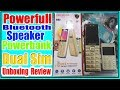 PowerFull Bluetooth Speaker With Power bank Mobile Only Rs 3200 Unboxing   Review In Urdu Hindi 2018