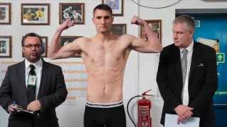 TOMMY LANGFORD v CHRISTIAN FABIAN RIOS OFFICIAL WEIGH IN & HEAD TO HEAD