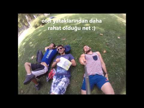 interrail movie 06.07.2015-30.07.2015 Cankat UGAN balkanlar+italya