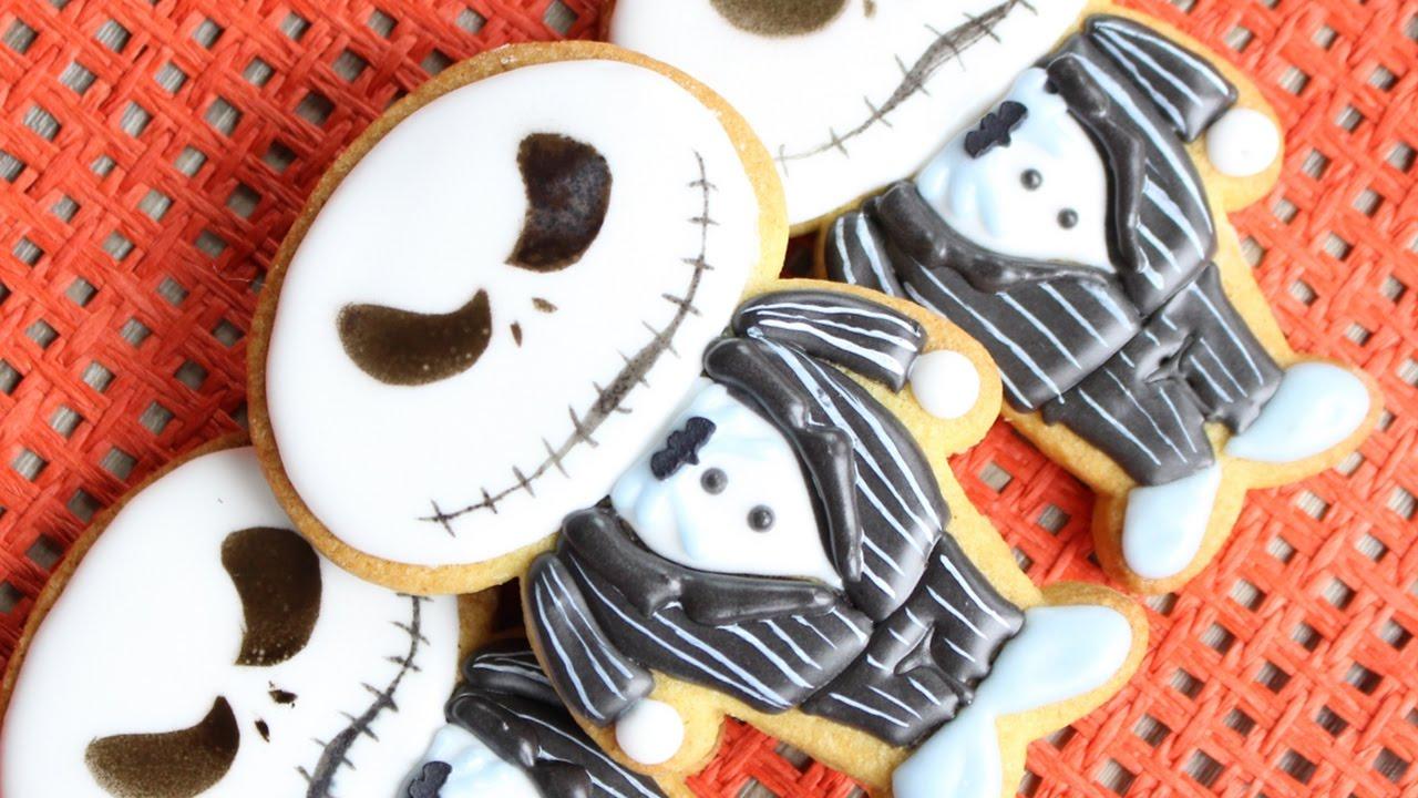 Jack Skellington from the Nightmare Before Christmas Cookies ...