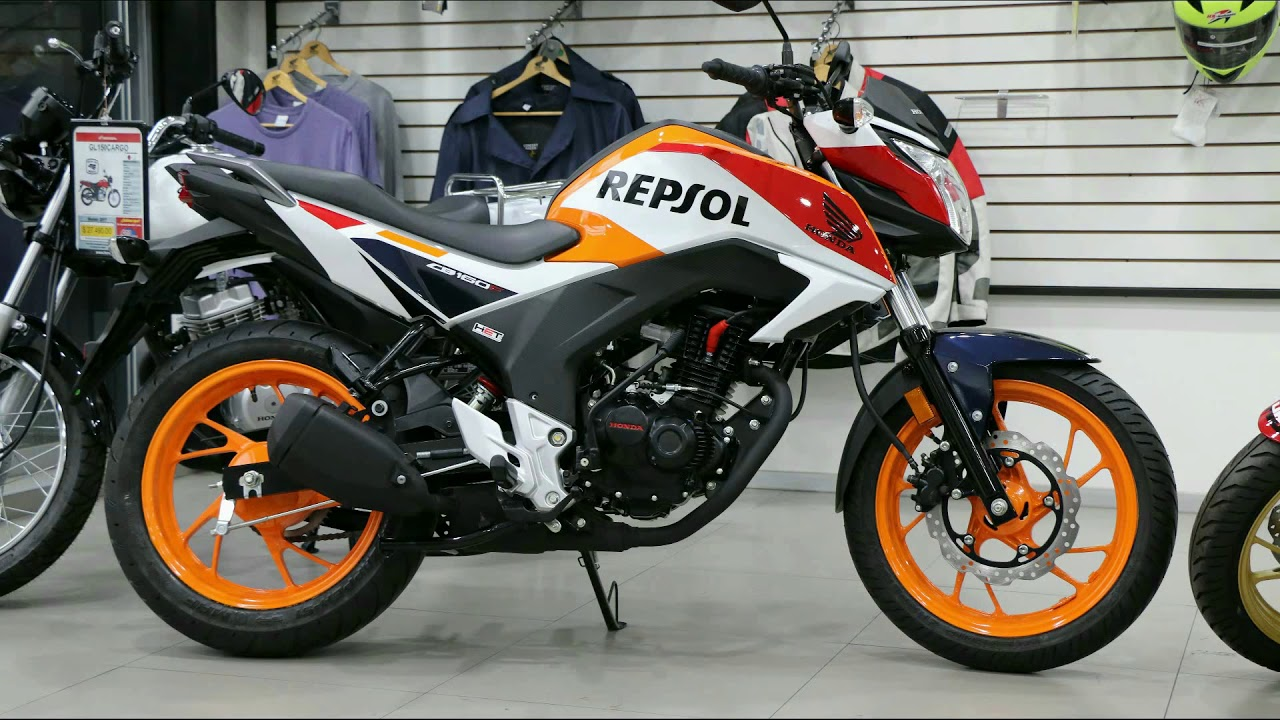 honda cb hornet 160r repsol edition hrc edition 2017. Black Bedroom Furniture Sets. Home Design Ideas
