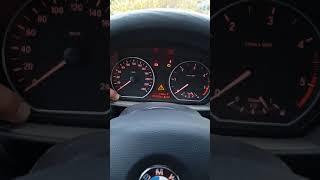 Remise à zéro d'un témoin de maintenance, BMW118D E87