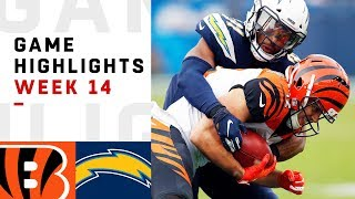 Bengals vs. Chargers Week 14 Highlights