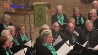 Jan Wennemars 68 jaar lid van De Lofstem Oudleusen en krijgt....