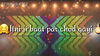 ha ho gyi galti |shivi | WhatsApp status created by the status lover