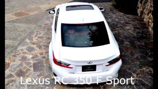видео Купе Lexus RC – наследие спорткара LFA