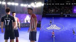 FIFA 20 | GAMEPLAY OFICIAL VOLTA FOOTBALL MANCHESTER CITY vs ATLETICO MADRID 1080p