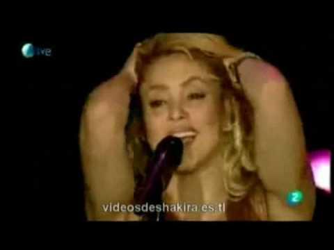 """Shakira """"Sale El Sol"""" Dedicada A Gustavo Cerati, En Monterrey"""