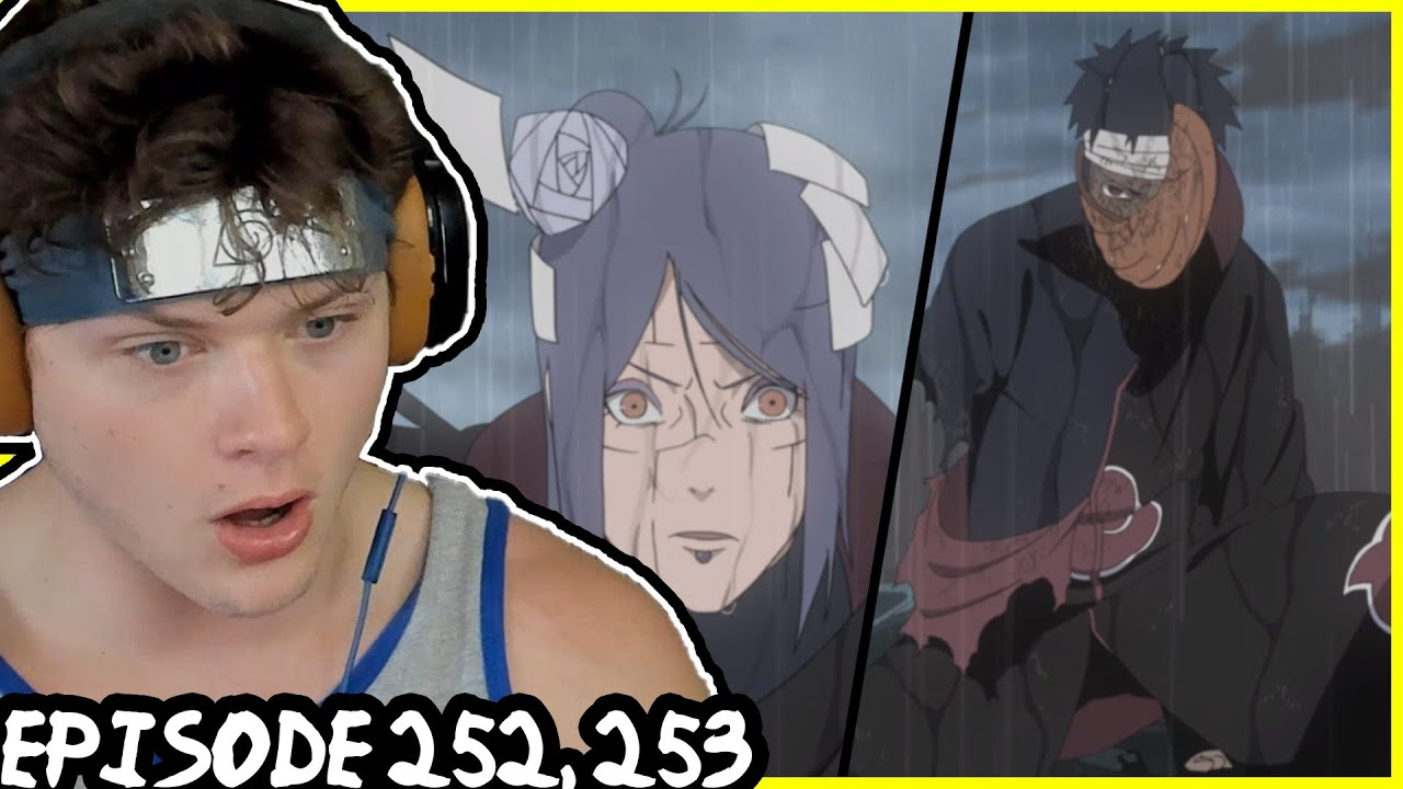 Download KONAN VS MADARA! Naruto Shippuden REACTION: Episode 252, 253