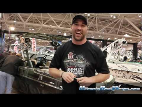 Ultimate Boat Wraps 2012 Minneapolis Boat Show Jared Allen Boat Wrap