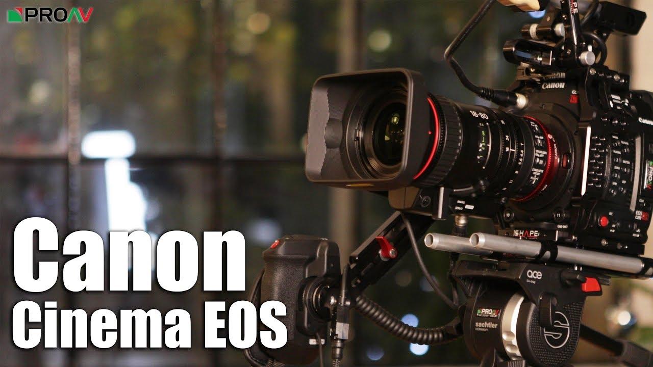 Canon Setups - C200, C300 II & C700