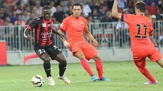 Nice 1-1 Barcelone (Amical 2014-2015) : résumé