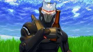 Playing Fortnite Drunk