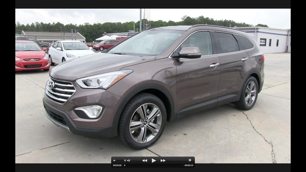 2013 hyundai santa fe lwb limited v6 start up exhaust and in depth review youtube. Black Bedroom Furniture Sets. Home Design Ideas