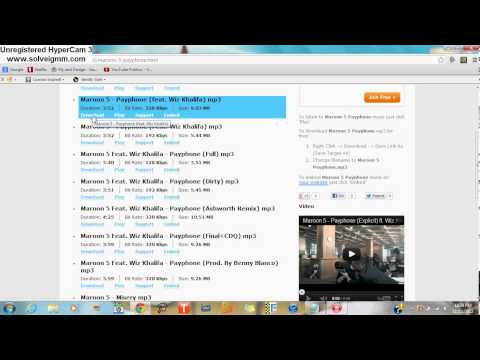 How to download free music on pc!