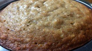 NO OVEN BANANA CAKE | HOW TO BAKE BANANA CAKE WITHOUT OVEN