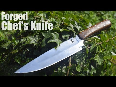 Knife Making - Forging A Chef's Knife