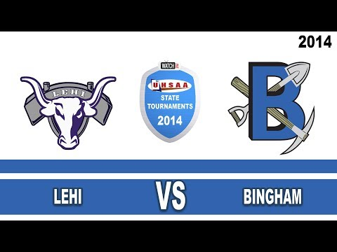 5A Lehi vs Bingham 2014 Utah State Volleyball Tournament Round 2