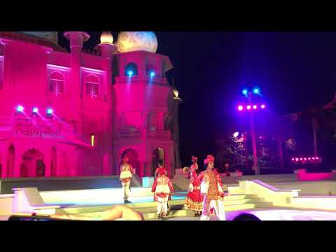 Indian traditional dance at Bollywood Parks Dubai