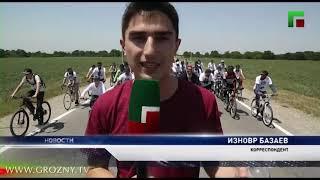 Велопробег, посвященный Дню России, прошел в Чечне