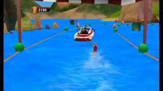 101 in 1 Sports Party Megamix - Water Skiing - Nintendo Wii