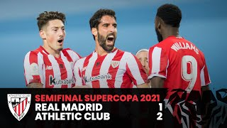 ⚽️ RESUMEN I Real Madrid 1-2 Athletic Club | Semifinal Supercopa 2021 I HIGHLIGHTS