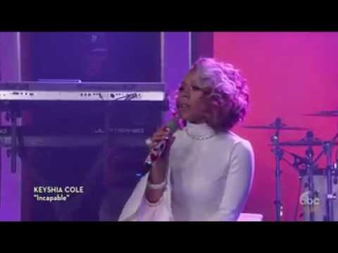 Keyshia Cole Incapable Snippet Live
