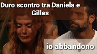 Isola dei famosi 2021, duro scontro tra Daniela Martani e Gilles Rocca. Lui: