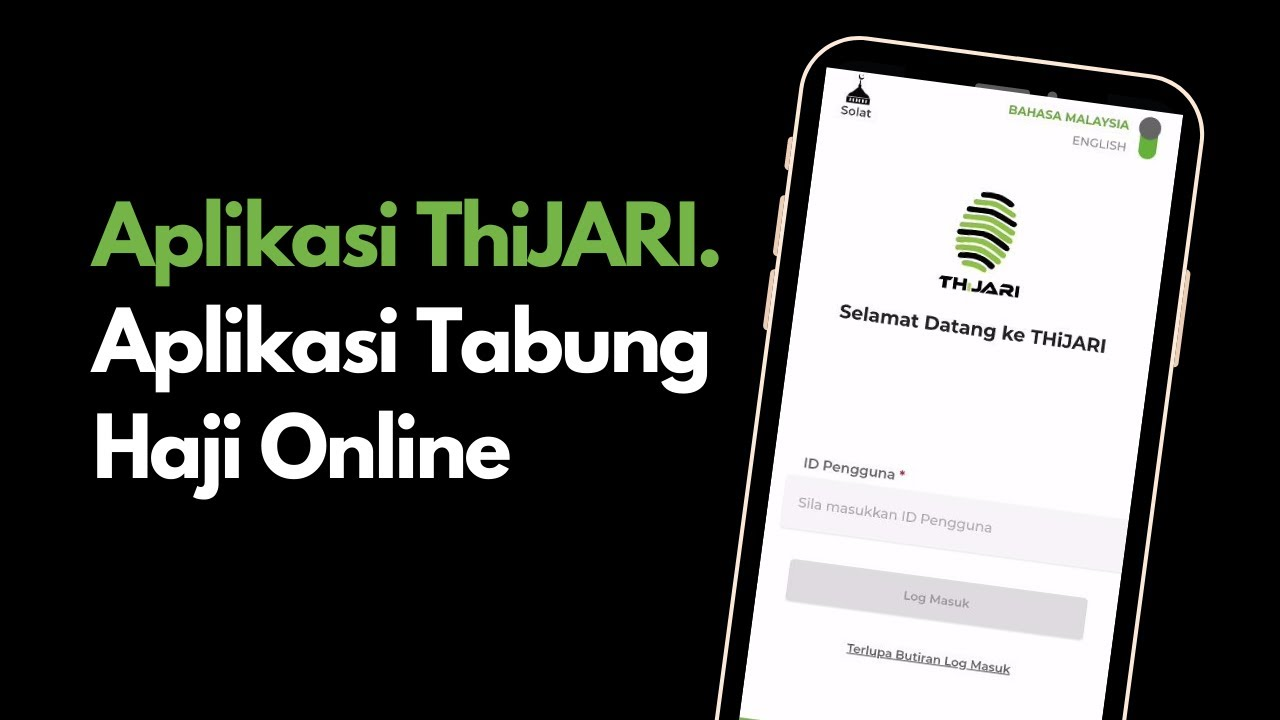 Aplikasi Thijari Tabung Haji Online Youtube