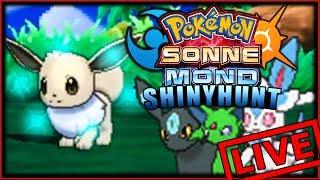 🔴Live | Shiny EVOLI-Hunt ! Pokémon Sonne & Mond