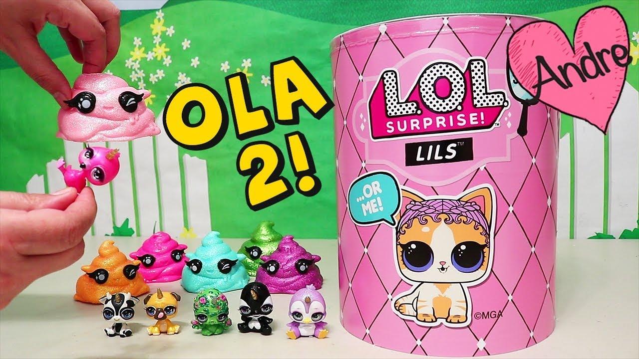 Download Andre abriendo Ola 2 LOL Surprise Lils y Cutie Tooties Slime!! Muñecas y juguetes