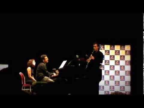 Grand Duo Concertant Op. 48, C.M.von Weber. Víctor Díaz, Guillermo Iriarte